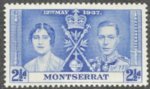 DYNAMITE Stamps: Montserrat Scott #91 – MINT
