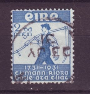J20722 Jlstamps 1931 ireland used #84 farmerl