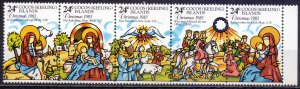 Cocos Islands. 1983. 107-11. Christmas and New Year. MNH.
