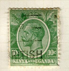 BRITISH KUT; KENYA 1922 early GV issue fine used 1c. value Shade