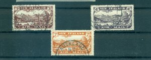 New Zealand - Sc# C1-3. 1931 Air Mails. Used. $77.50.