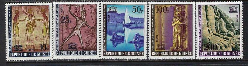 GUINEA 351-54 MNH UNESCO Z407