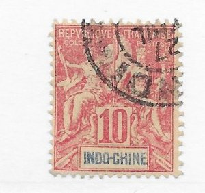 Indochina #9 Used CAT VALUE $2.00