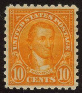 MALACK 591 SUPERB OG VLH,  a superior stamp with per..MORE.. g4197