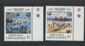 STAMP STATION PERTH Grenada Gren.#1433-1434 Discovery of America Issue MNH