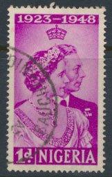 Nigeria  SG 62 SC# 73  Used Royal Silver Wedding 1948 please see scan