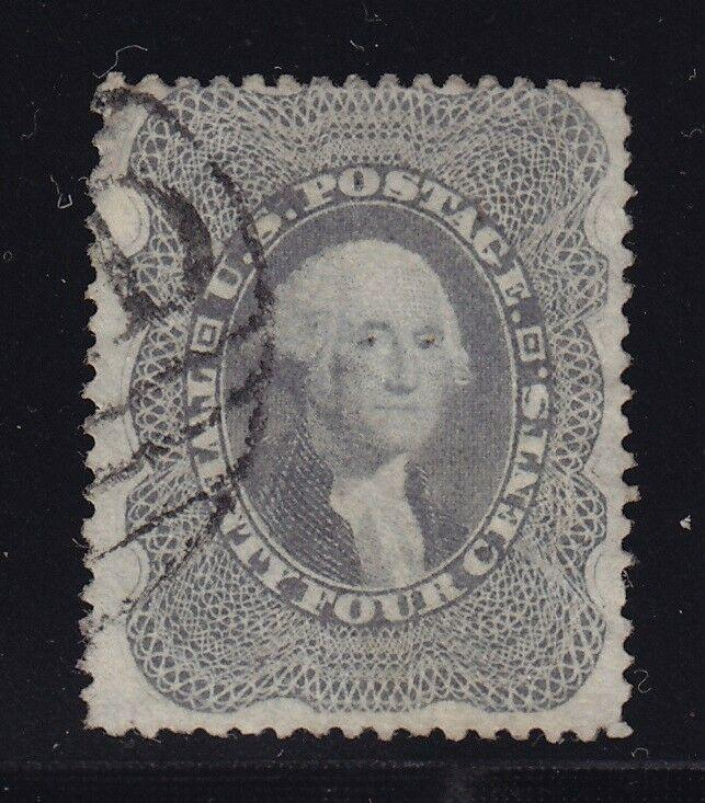 37 F-VF used neat face free cancel with nice color ! see pic !