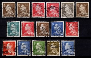 Denmark 1961 Frederik IX Definitive Part Set [Used]
