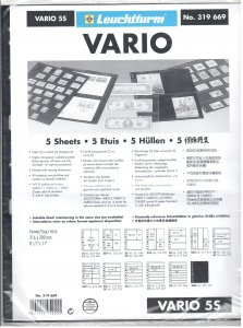 Lighthouse Vario 5S Stock Pages #319669 Ret $5.85