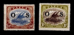 Papua 1931-32 Official Service 'OS' overprint [Mint / Unused]