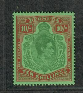 Bermuda Sc#126a SG119 M/NH/EF, Perf 14, Cv. $140