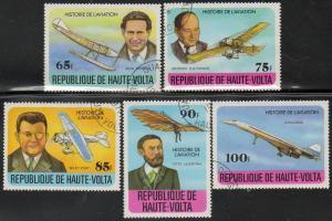 Burkina Faso  Scott  462-466  CTO  Complete