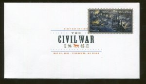 2013 Vicksburg Mississippi The Civil War Battle 1863 First Day Cover