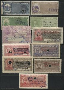 India 11 various Indian States Court Fee revenues used very scarce