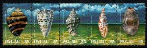Palau  191 - 195  MNH cat $ 4.00 aaaa