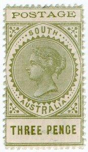 (I.B) Australia Postal : South Australia 3d (SG 268)