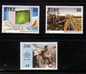 Ireland Sc 646-8 1985 Industrial Innovation stamps mint NH