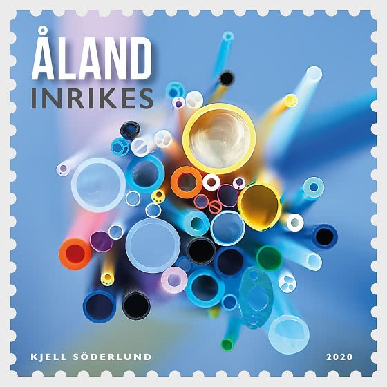 2020 Aland IS Medical & Industrial Tubing (Scott 434) MNH