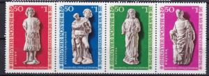 1976 Hungary Scott B315a-B316 Gothic Sculptures Buda Castle MNH