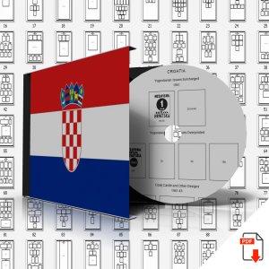 CROATIA STAMP ALBUM PAGES 1941-2011 (137 PDF digital pages)