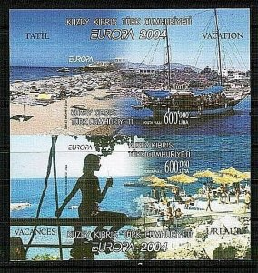 2004 UNMOUNTED MINT - EUROPA VACATION - TURKISH CYPRUS