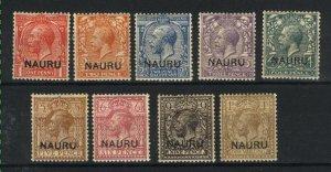 Nauru 2,4-12   Mint VF 1916-23 PD