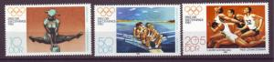 J20531 Jlstamps 1980 germany ddr set mnh #2098-9,b190 olympics