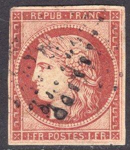 FRANCE SCOTT 9B