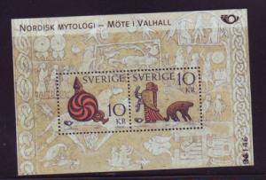 Sweden Sc 2480 2004 Norse Mythology stamp sheet mint NH