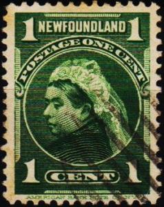 Newfoundland. 1897 1c  S.G.85a Fine Used