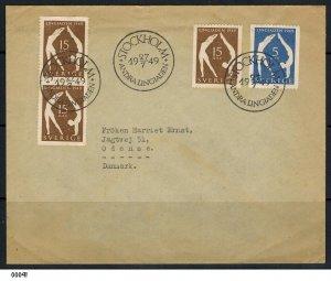 Sweden 1949 1949 World Gymnastics Festival, Stockholm Cover