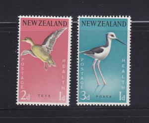 New Zealand B57-B58 Set MNH Birds (E)