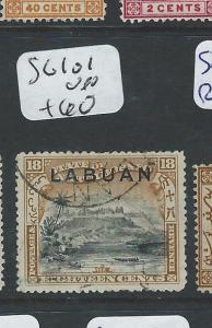 LABUAN  (PP2701B) 18C MOUNTAIN SG 101  VFU