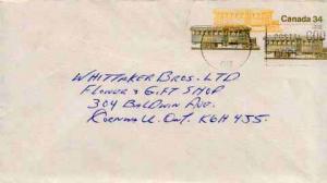 Canada, Postal Stationery, Trains