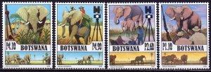 Botswana. 2008. 879-882. Elephants. MNH.