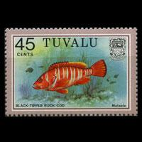 TUVALU 1979 - Scott# 108A Fish Set of 1 NH