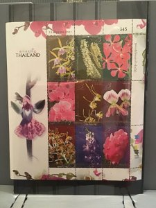 Thailand Flowers mint never hinged  stamps sheet    R26492