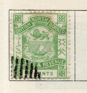 North Borneo 1889 Early Issue Fine Used 8c. NW-113861