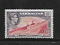 GIBRALTAR, 113, MINT HINGED, MOORISH CASTLE