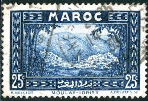 FRENCH MOROCCO - SC #131 - USED - 1933 - MORO003
