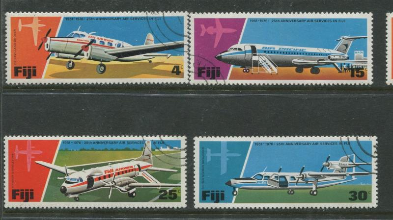 Fiji - Scott 367-370 - General Issue 1976- VFU - Set of 4 Stamps