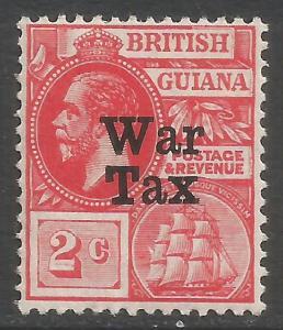 BRITISH GUIANA MR1 MOG Y217-3