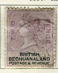 BECHUANALAND; 1887 early classic QV issue fine used 2d. value