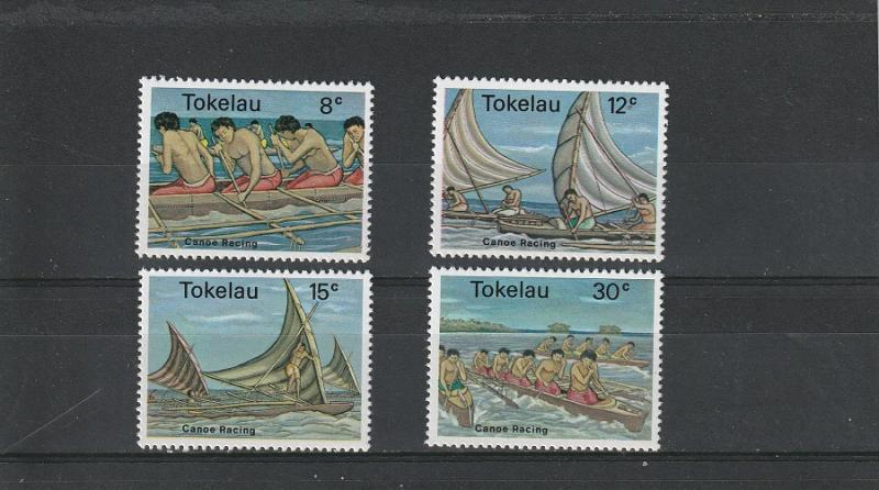 Tokelau  Scott#  65-8  MNH