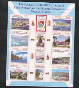A) 2005 COLOMBIA, DEPARMENT - ARCHIPIELAGO SAN ANDRES PROVIDENCIA Y SANTA CATALI