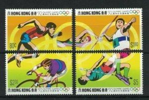 HK113) Hong Kong 1992 Spain - Olympics MUH