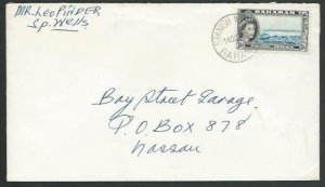 BAHAMAS 1963 local cover SPANISH WELLS cds.................................56616