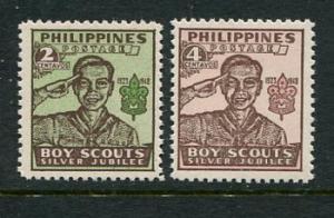 Philippines #528-9a MNH (Box2)
