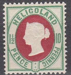 Heligoland #17  MNH CV $17.00