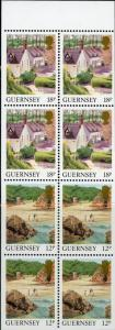 Guernsey #374b Landscapes Full Booklet MNH